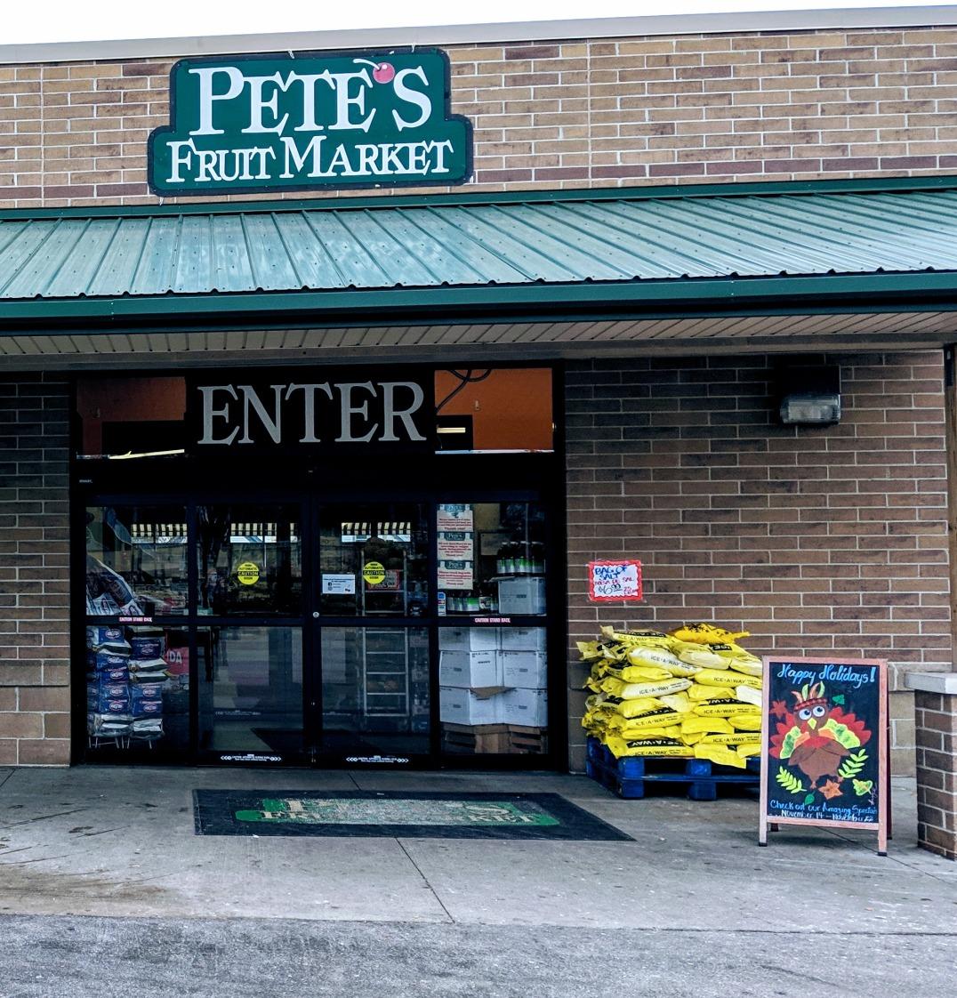 petes fruit market entry